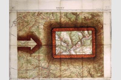Carte géo (49 x 62.5cm)