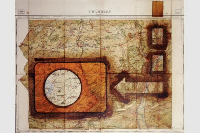 Carte géo (49 x 62.5 cm)