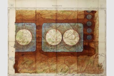 Carte géo ( 49 x 62.5 cm)