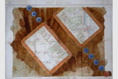 Carte géo (46 x 63 cm)